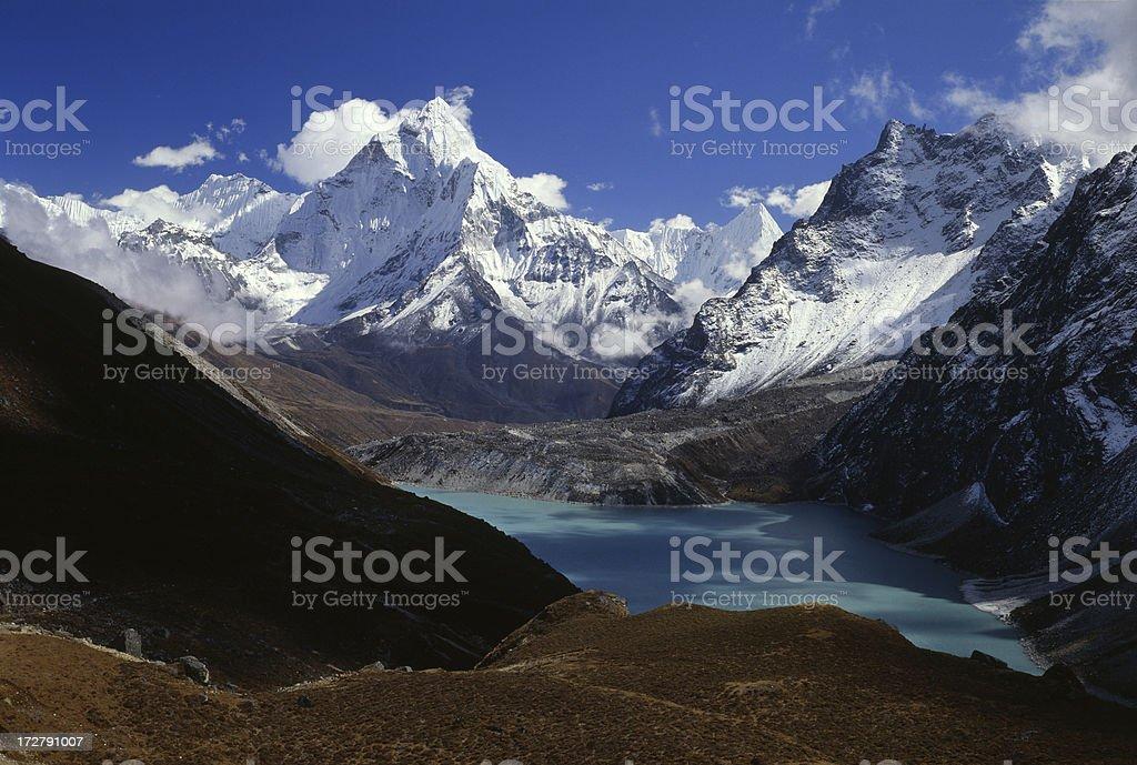 Nepal. Himalayas royalty-free stock photo