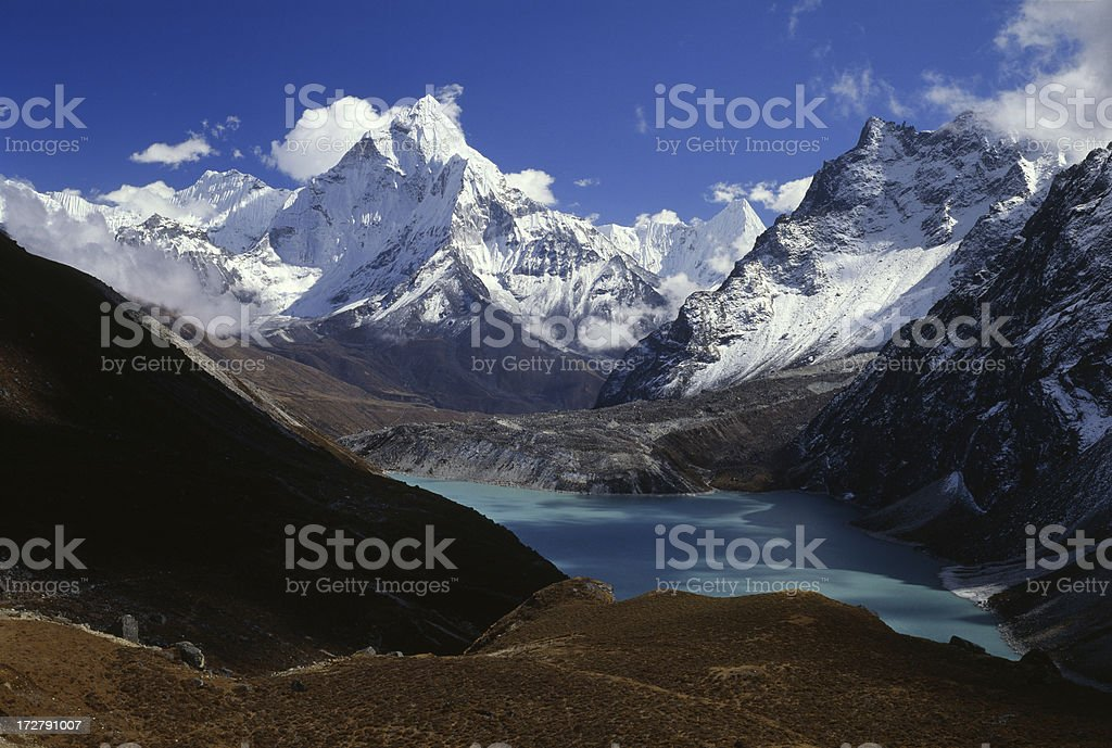 Nepal. Himalayas stock photo