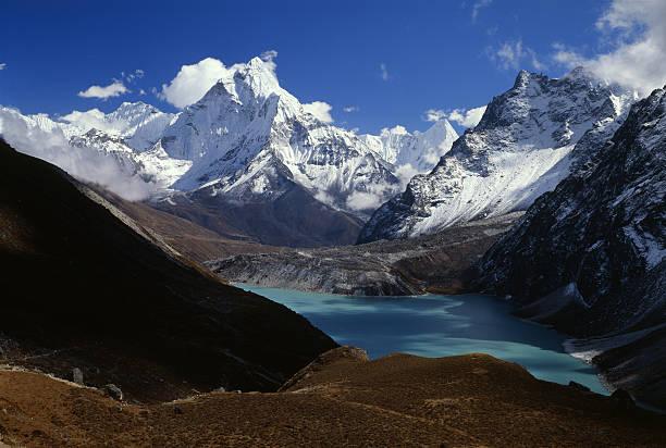 Nepal. Himalayas stock photo