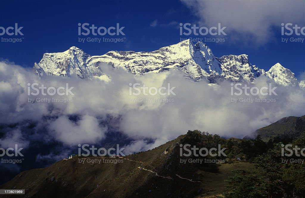 Nepal. Himalayas. royalty-free stock photo