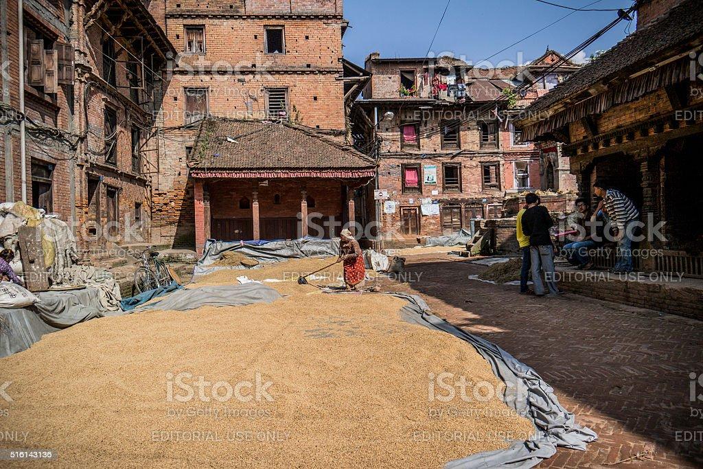 Nepal stock photo