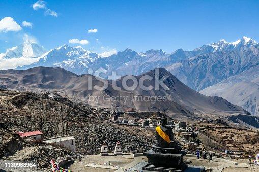 istock Nepal - Temple in Muktinath, Annapurna Circuit Trek 1130968984