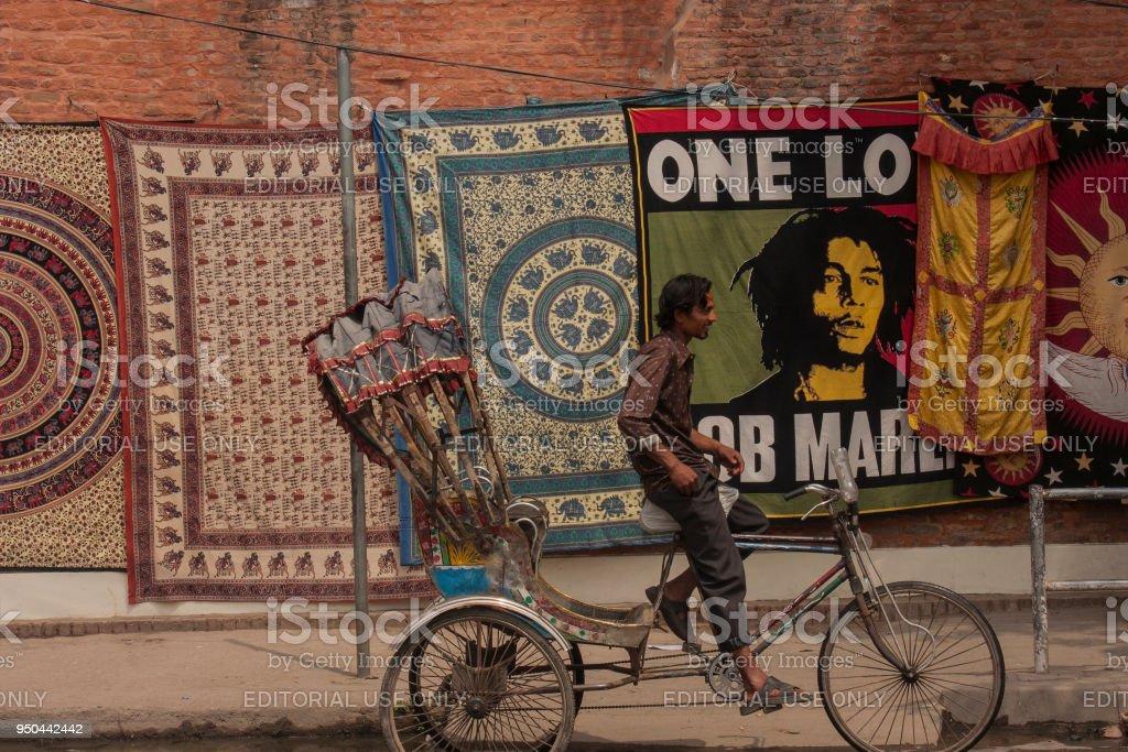 Nepal vervoeren met fietsarrangement foto