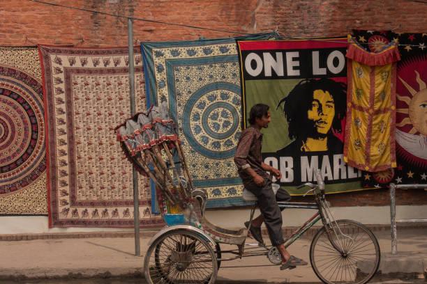 Nepal mit dem Fahrrad transportieren – Foto