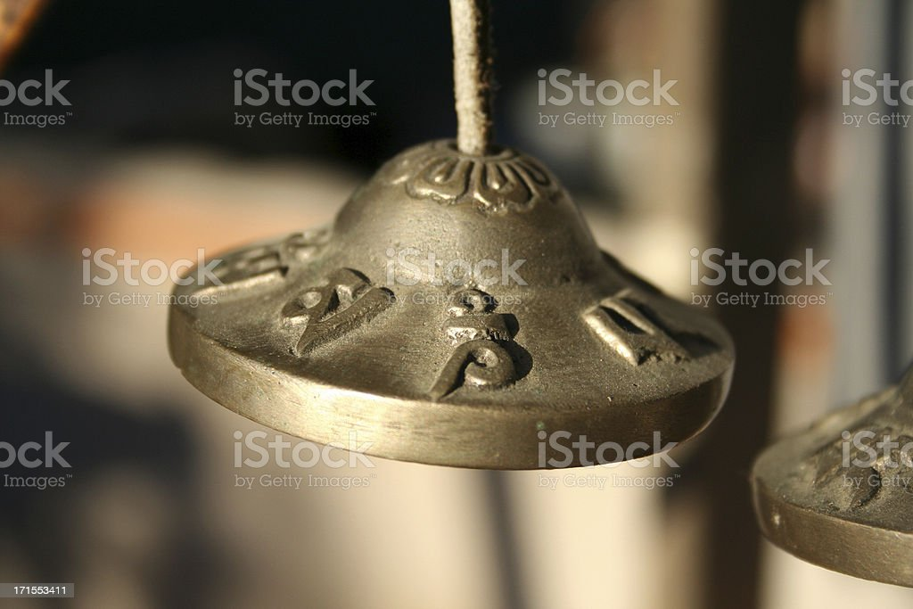 Nepalese Bells royalty-free stock photo
