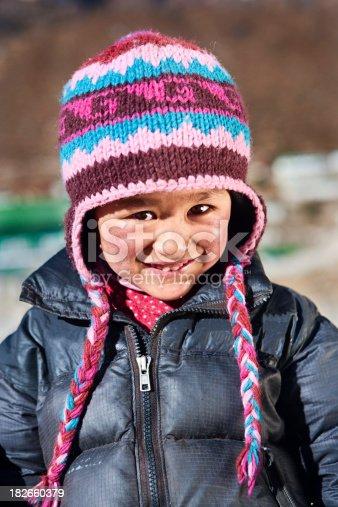 istock Nepali boy, Khumjung village 182660379