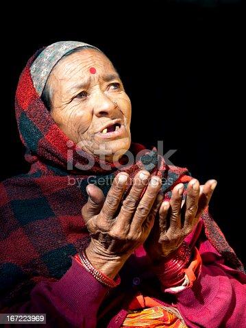 istock Nepali woman. 167223969