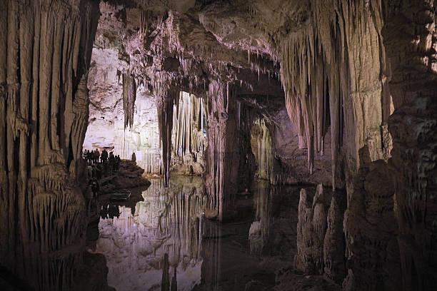 neptune cave - stalagmit bildbanksfoton och bilder