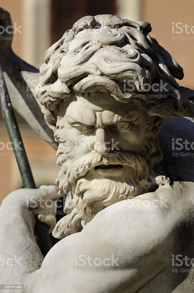 Neptune royalty-free stock photo