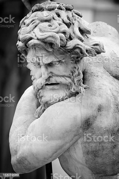 Bristol Centre Promenade statue of Neptune Stock Photo - Alamy
