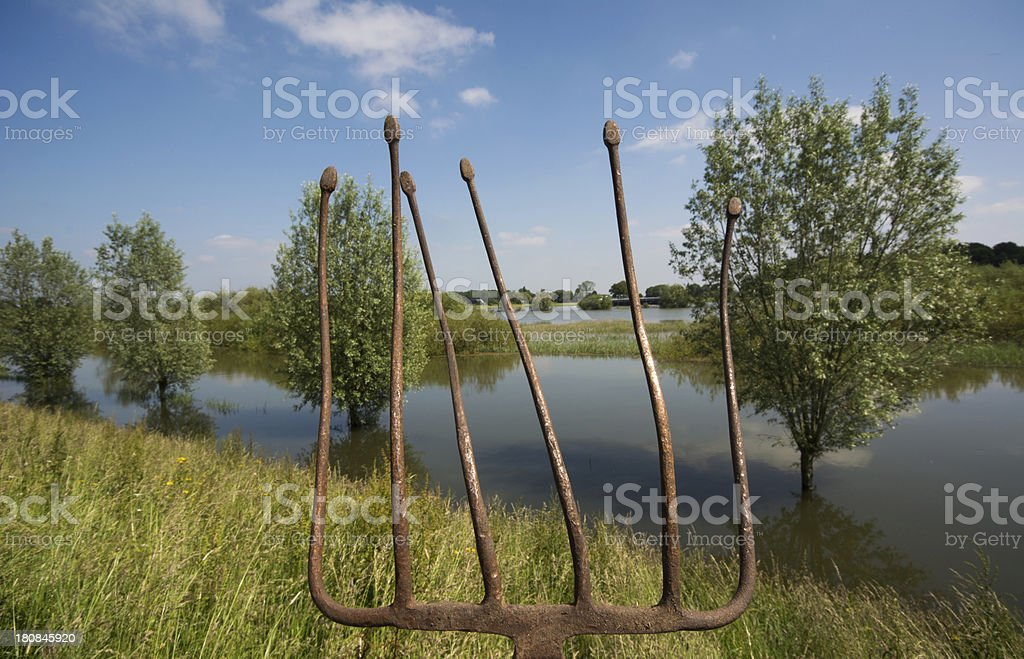 Neptune's flooded River royalty-free stock photo