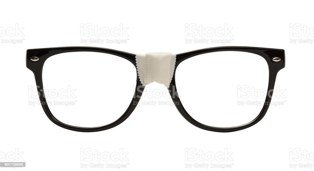 Nerd Glasses stock photo