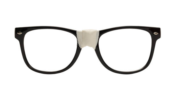 nerd glasses - spectacles stock photos and pictures