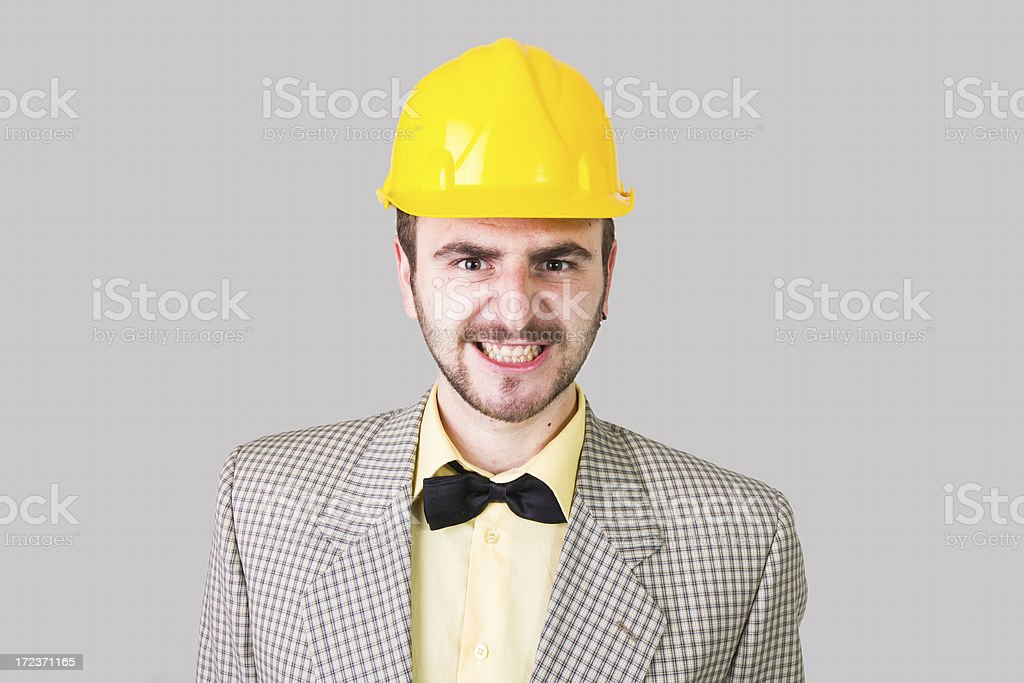 Nerd royalty-free stock photo