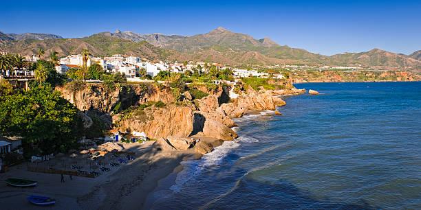 Nerja, Malaga, Spain stock photo