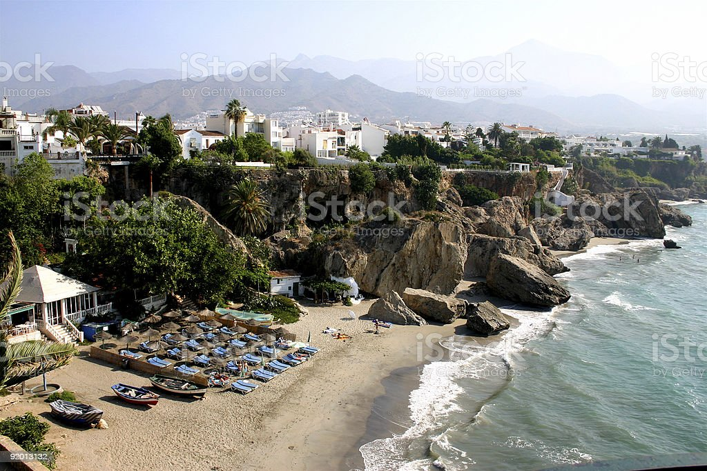 nerja,andalusien royalty-free stock photo
