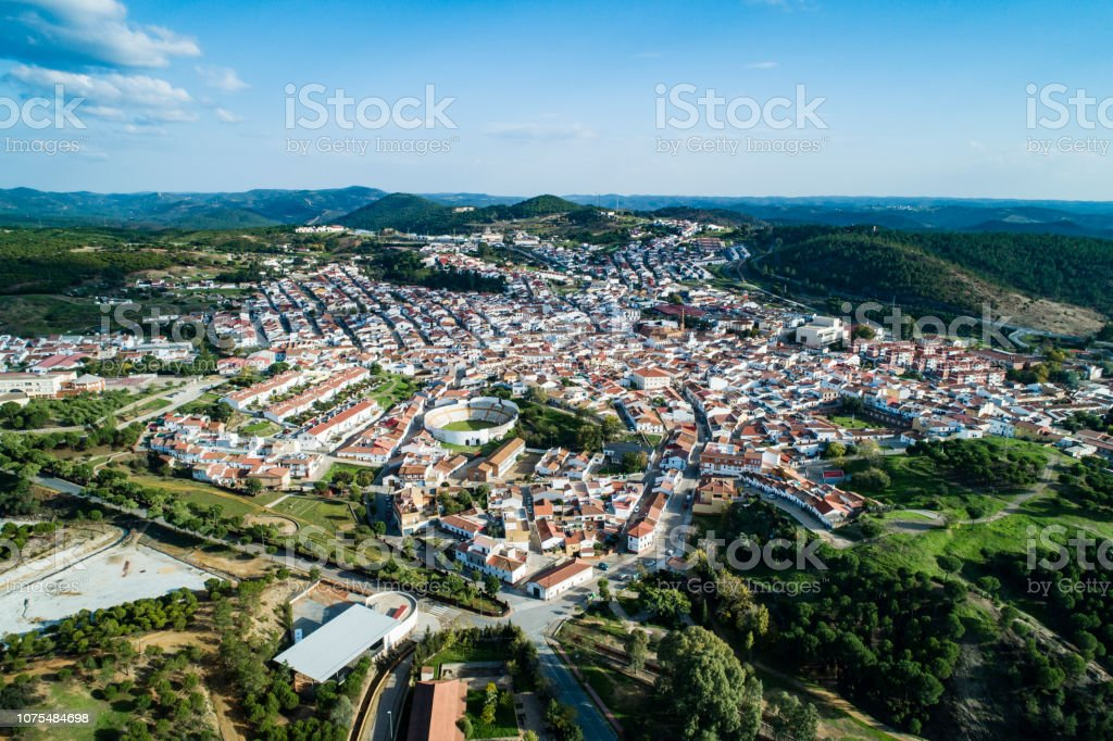 Nerva in  Huelva Spain stock photo