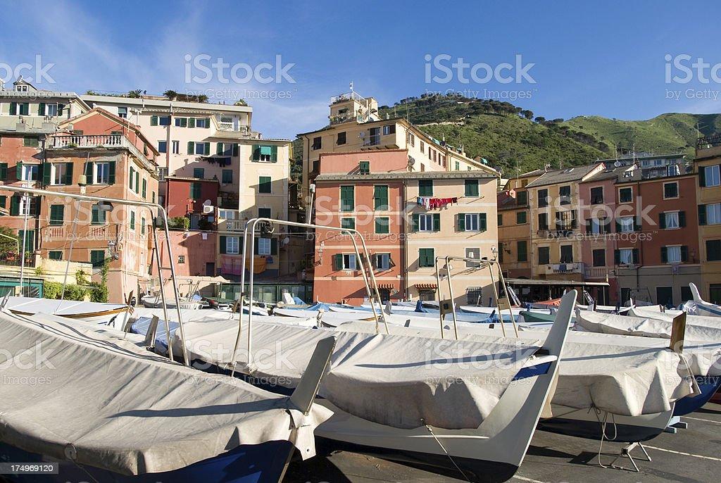 Nervi - Genoa, Italy royalty-free stock photo