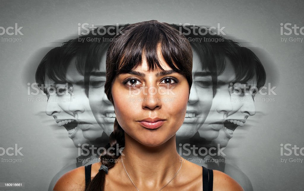 Nervous Breakdown stock photo