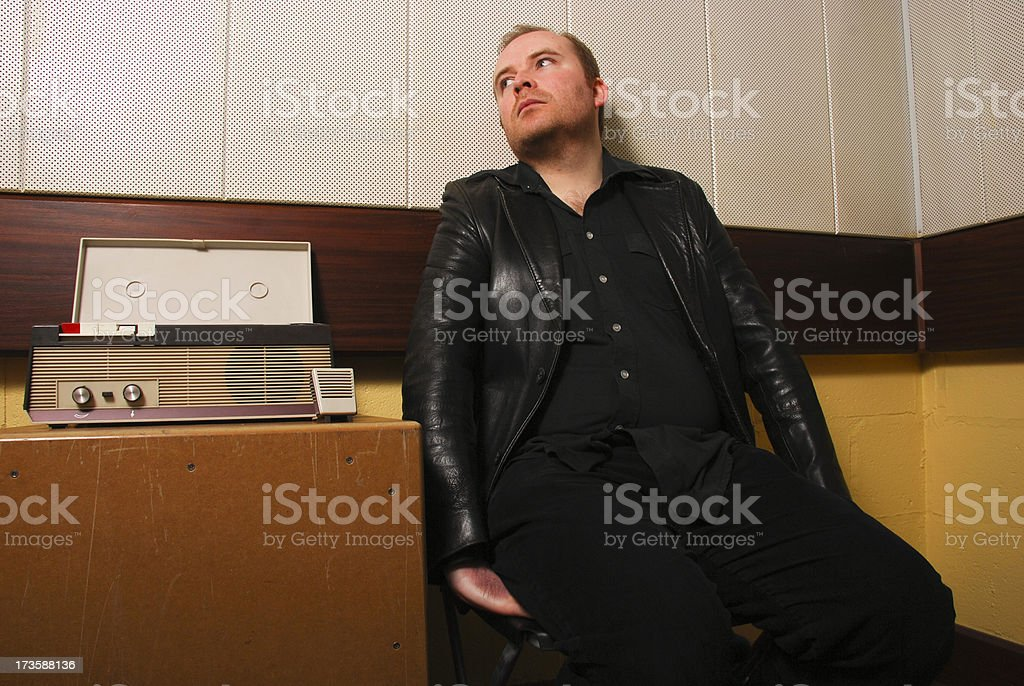 Nervous confession royalty-free stock photo