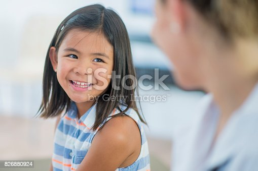 826880918 istock photo Nervous Girl 826880924
