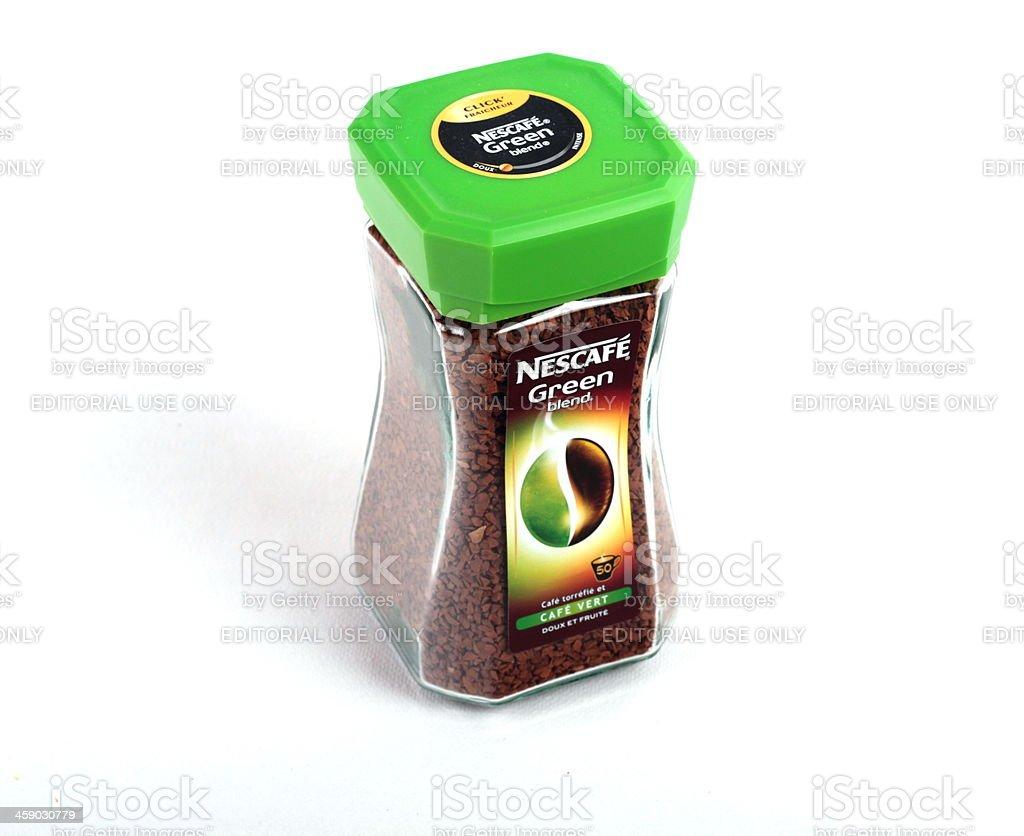 Nescafé Green royalty-free stock photo