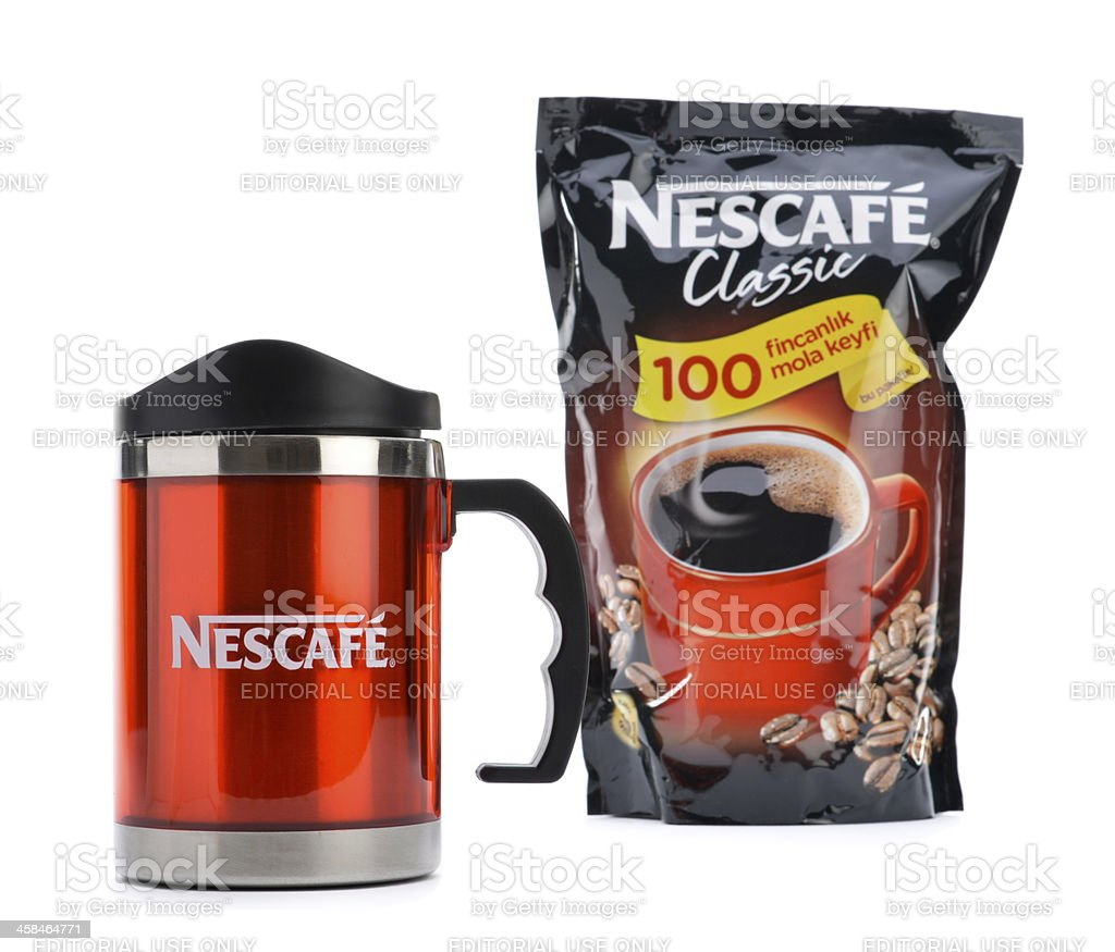 Nescafe Classic royalty-free stock photo