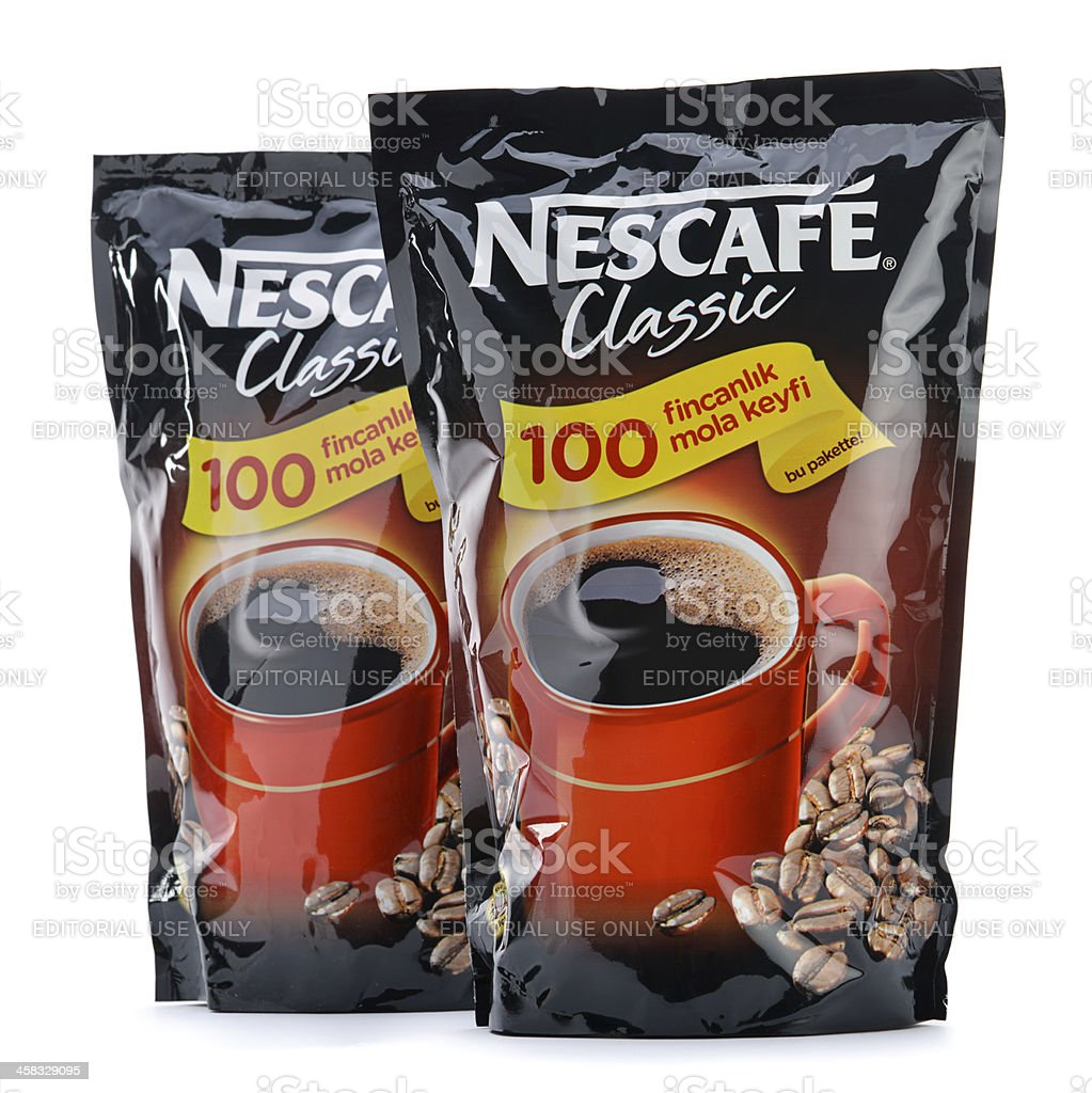 Nescafe Refill Pack royalty-free stock photo