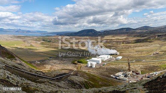 istock Nesjavellir geothermal facilities in Iceland 1211984744