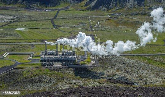 istock Nesjavellir geothermal power station, Iceland 463802365