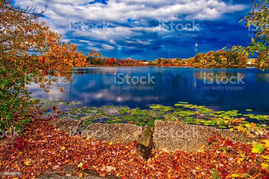Nesmith Lake - Royalty-free Akron - Ohio Stock Photo