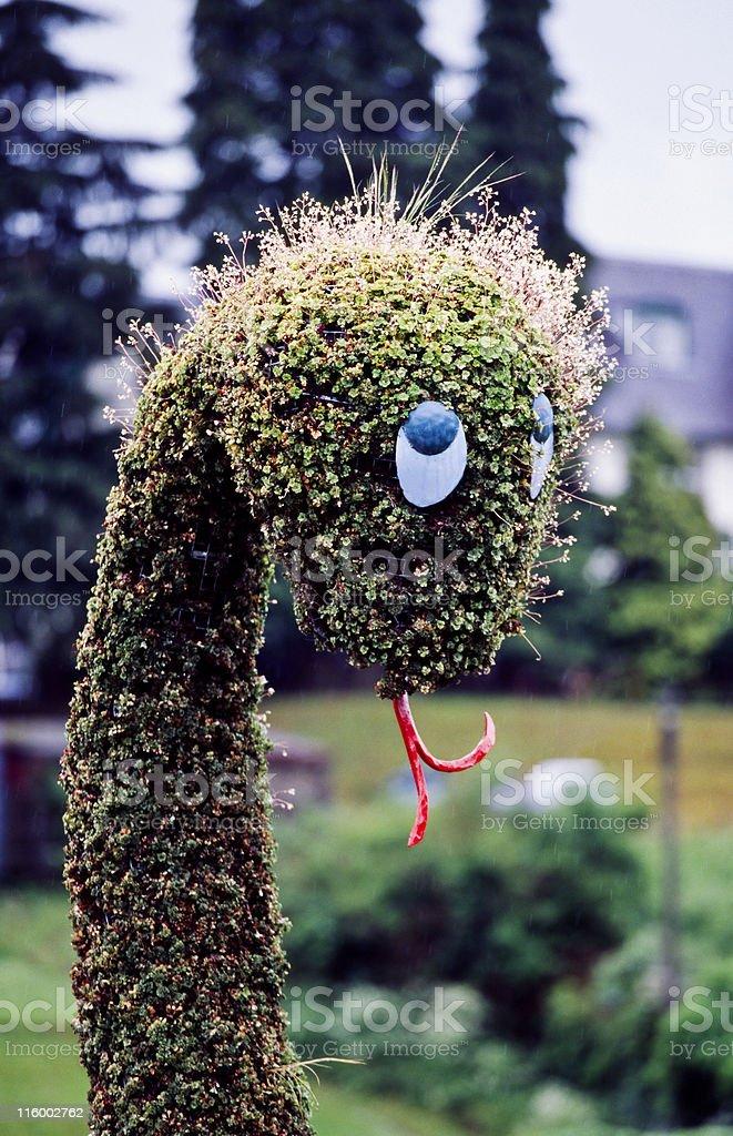 Nessie, the Loch Ness Monster stock photo