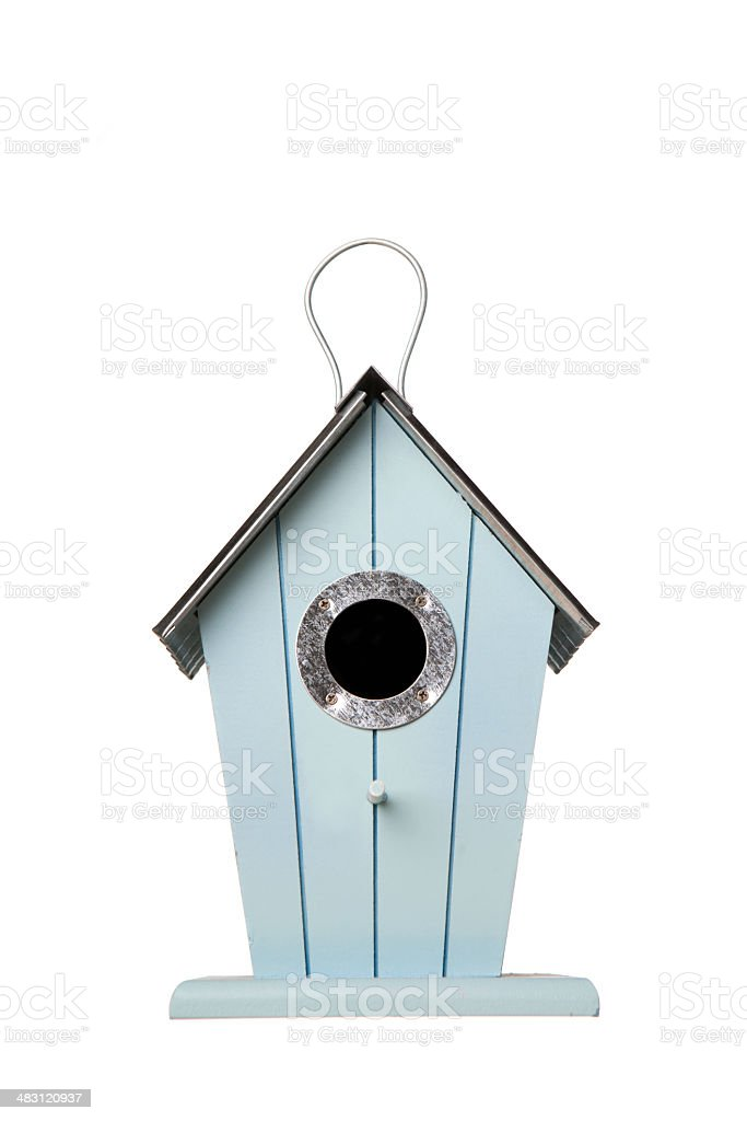 Nest box royalty-free stock photo