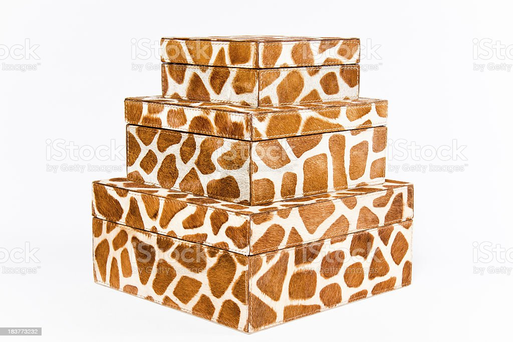 Nested Hide Boxes royalty-free stock photo