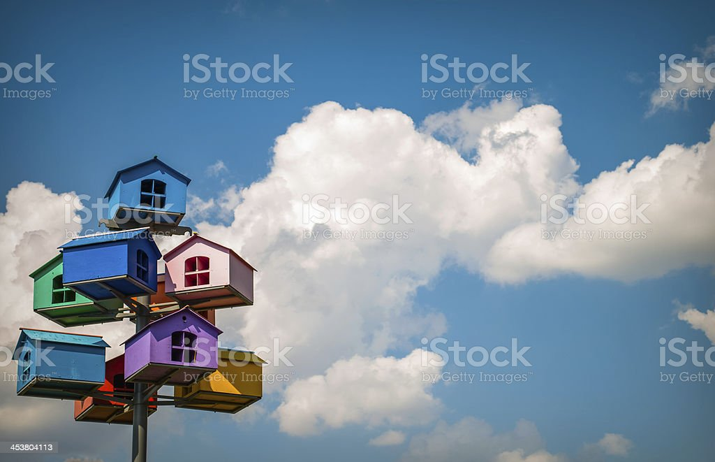 Nesting boxes royalty-free stock photo