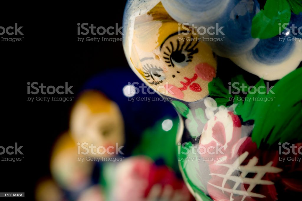 Nesting Doll royalty-free stock photo