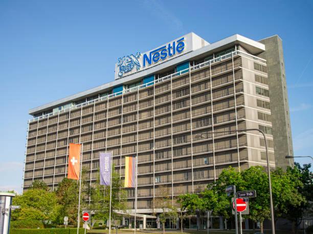 Nestlé Deutschland Hauptsitz in Frankfurt – Foto