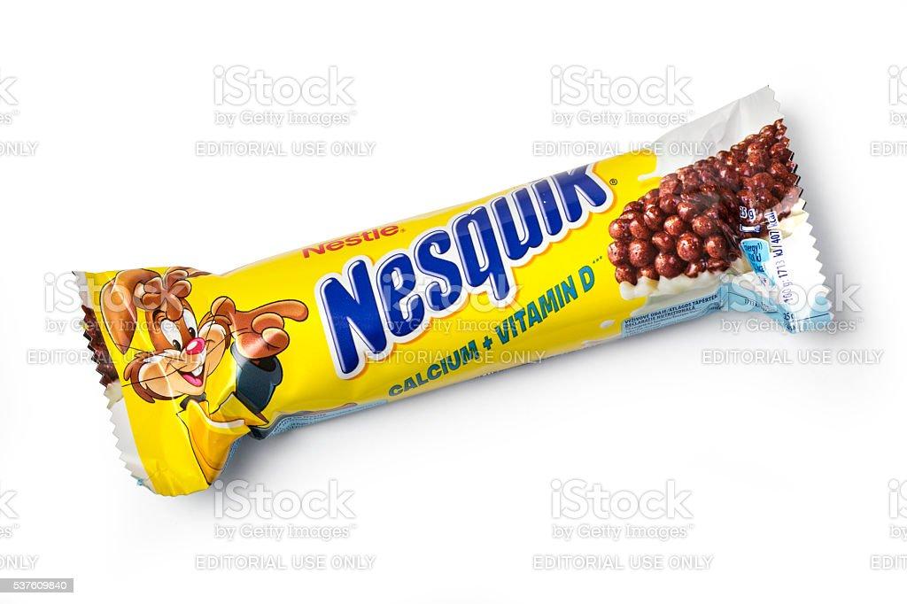 Nestle Nesquik Cereal bar