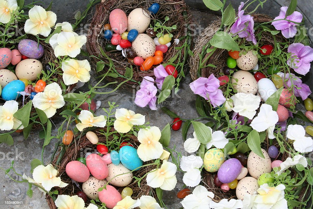 Nests of Sweets royalty-free stock photo