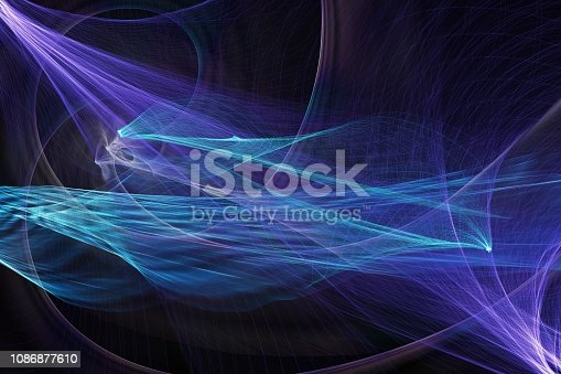 blue abstract modern background