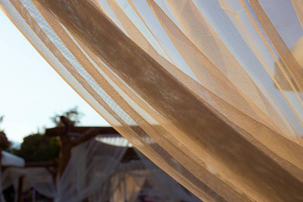 net curtain - byakkaya stok fotoğraflar ve resimler