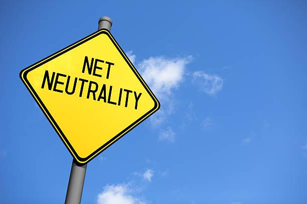 Net Neutrality - Road Sign stock photo