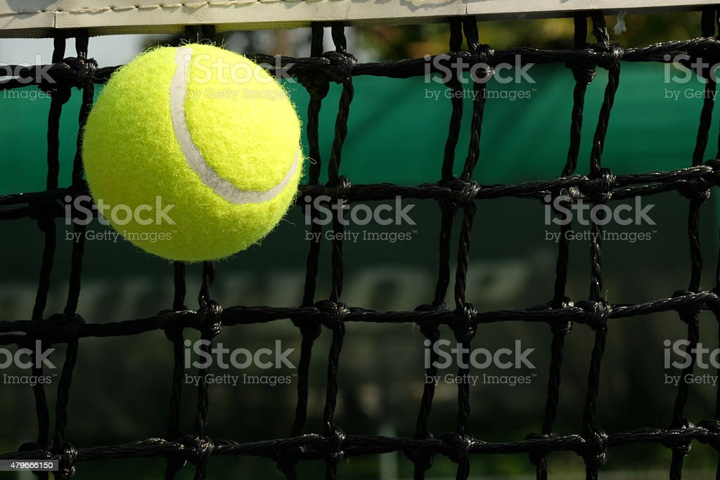 Net stop a nice shot. - Stock image stock photo