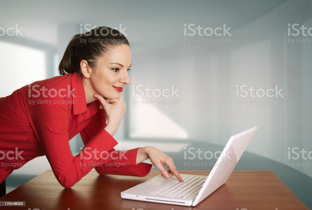 Net surfing royalty-free stock photo