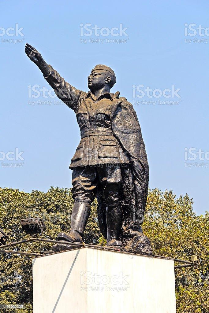 Netaji Subhash Chandra Bose stock photo