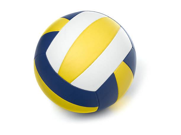 netball on white - netball stockfoto's en -beelden