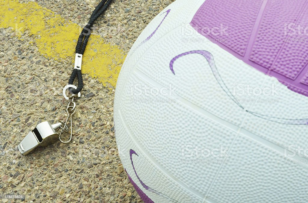 Netball royalty-free stock photo