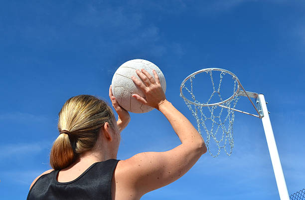 Netball Season stock photo