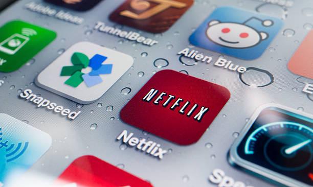 Netflix Application on iPhone