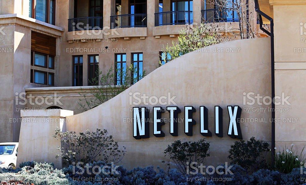 Netflix World Headquarters stock photo